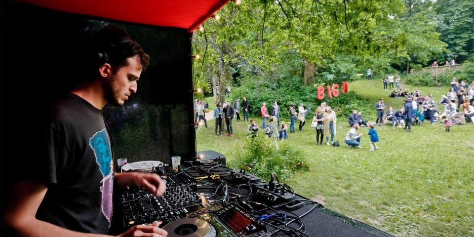 """Deuxième édition du Festival Electro """"Big Love"""" au Parc des Tanneurs"""